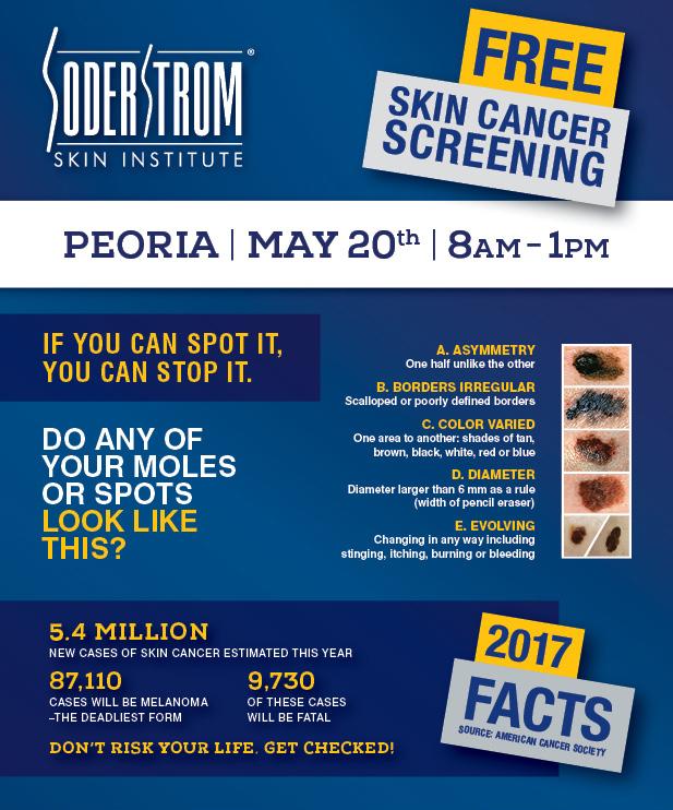 Skin Cancer Screening in Peoria